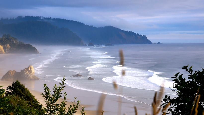 Oregon Coast Pull off