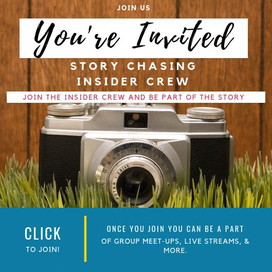 Story Chasing Insider Crew Invitation