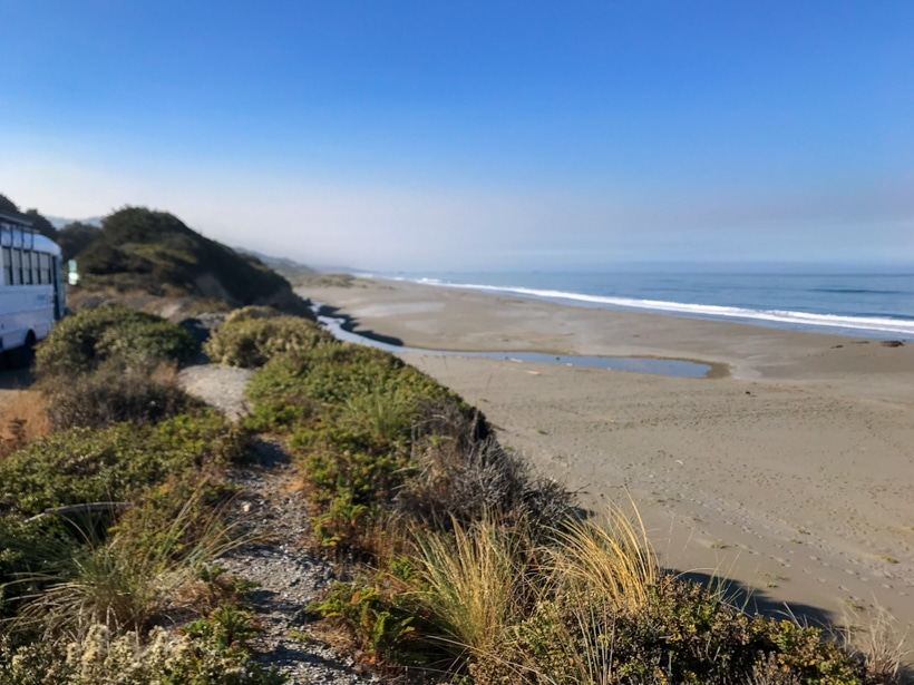Free Boondocking on Southern Oregon Coast
