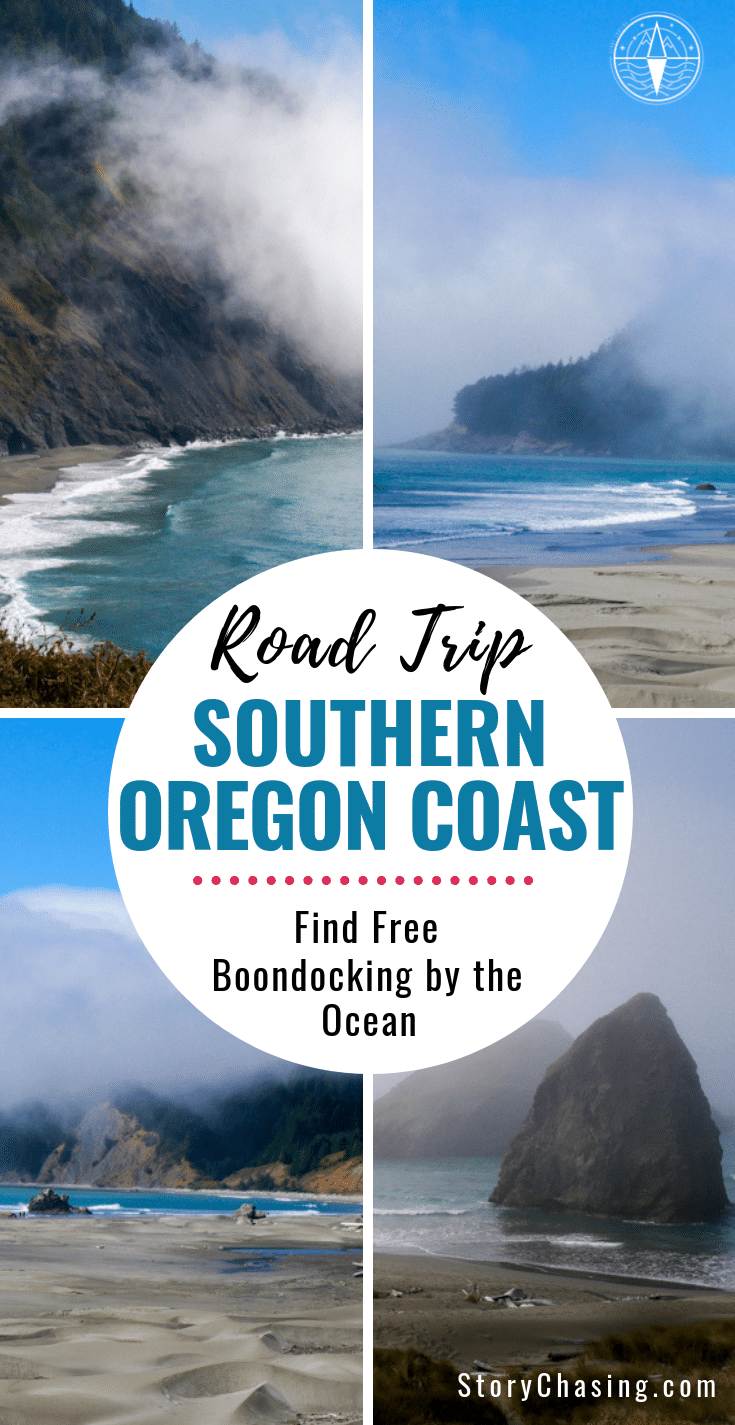SOUTHERn Oregon Coast free boondocking by the coast