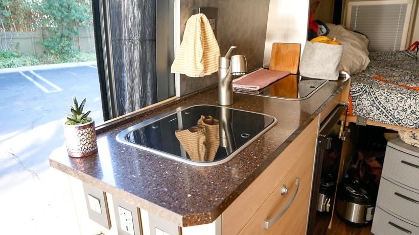 Hymer Aktiv Kitchen Counters