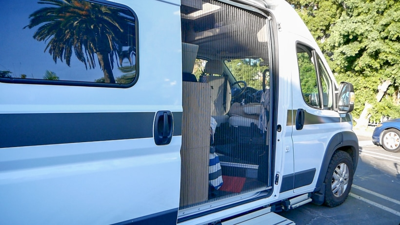 Hymer Aktiv Screen Door