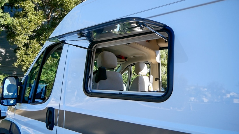 Hymer Aktiv Ventilation Windows