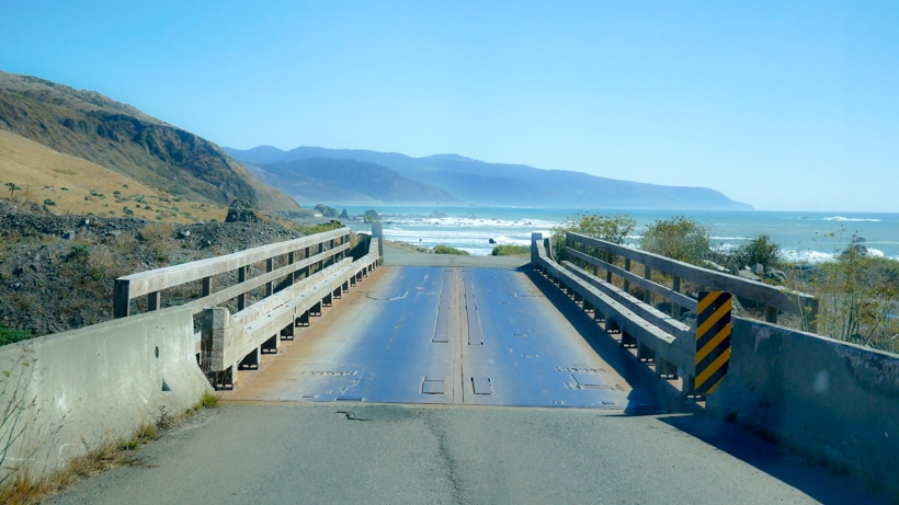 Lost Coast Bridges