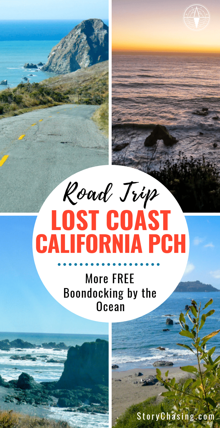 Lost Coast and California PCH Boondocking