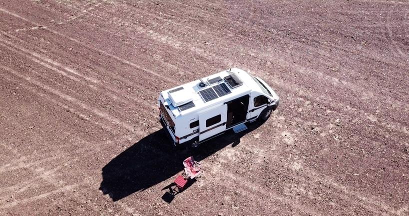 Aerial Van Drone Footage