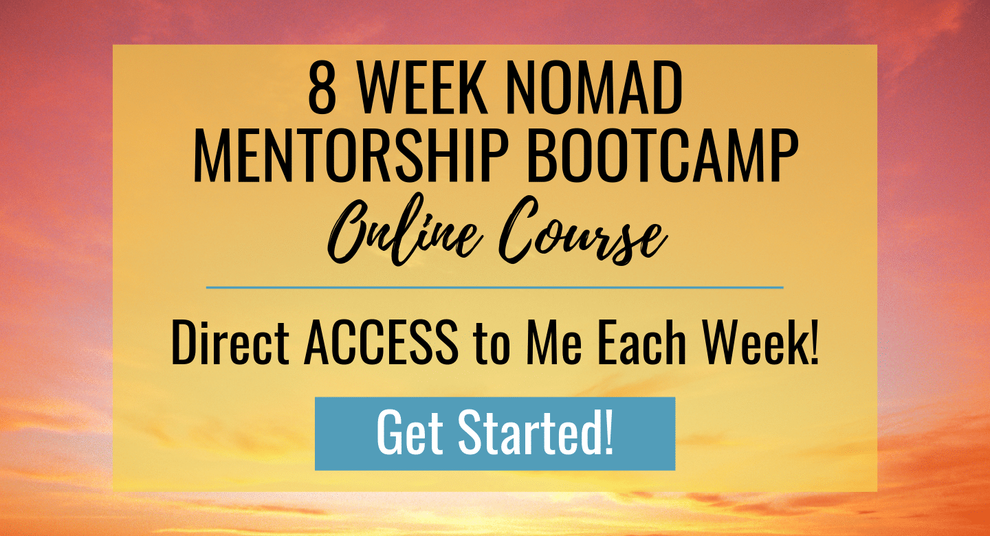 8 Week Nomad Mentorship Bootcamp